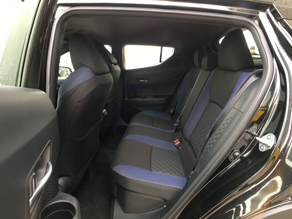 Black[Black Sand Pearl] 2021 Toyota C-HR XLE Premium Package KHMBYC AD Left Side Photo in Brampton ON