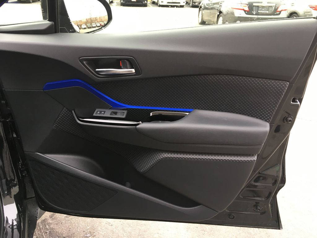 Black[Black Sand Pearl] 2021 Toyota C-HR XLE Premium Package KHMBYC AD Trunk / Cargo Area Photo in Brampton ON