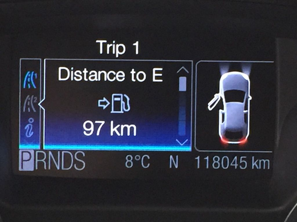 White[White Platinum Tricoat] 2013 Ford Escape SEL AWD Odometer Photo in Sherwood Park AB