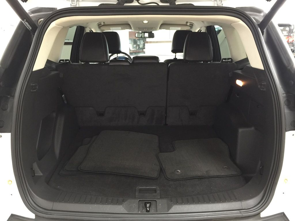 White[White Platinum Tricoat] 2013 Ford Escape SEL AWD Cargo Area/Rear Seats Photo in Sherwood Park AB