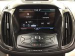 White[White Platinum Tricoat] 2013 Ford Escape SEL AWD Infotainment Closeup Photo in Sherwood Park AB