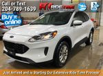 White[Oxford White] 2020 Ford Escape SE AWD - NAV, Bluetooth, Heated Seats, Bluetooth Primary Listing Photo in Winnipeg MB