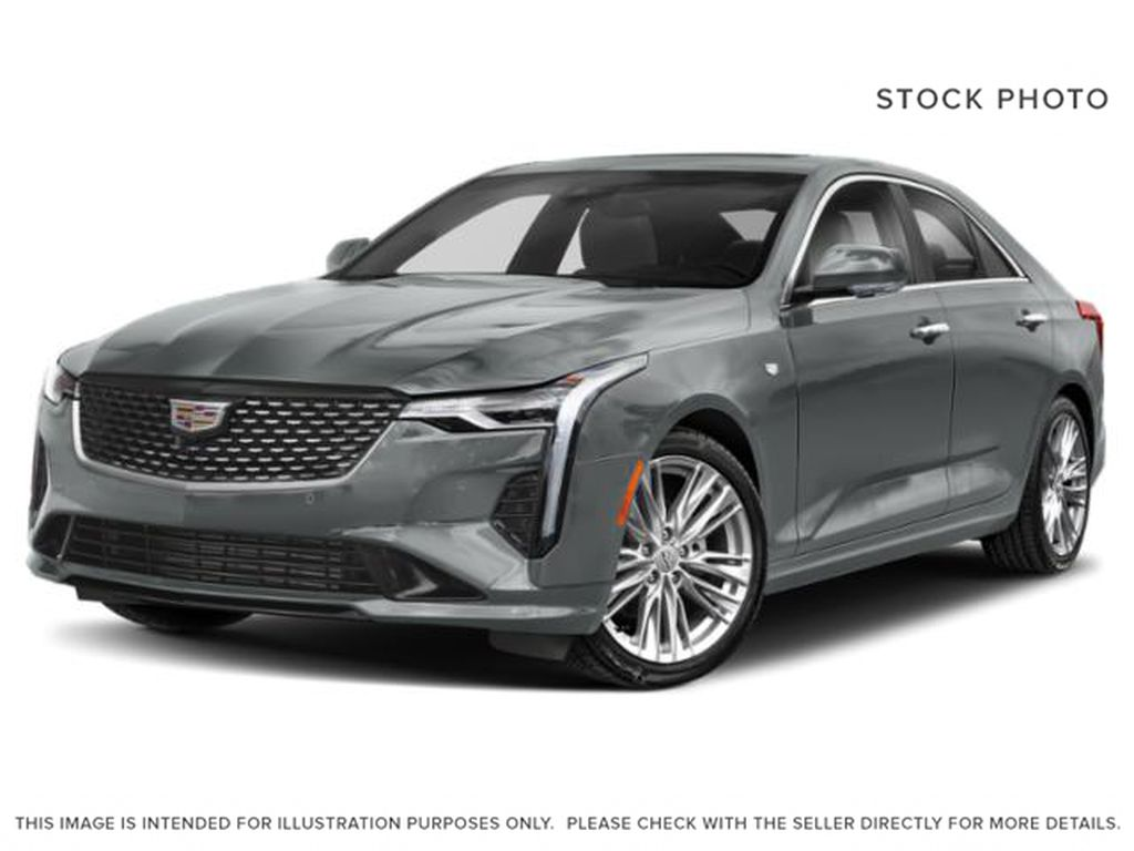 Gray[Satin Steel Metallic] 2021 Cadillac CT4