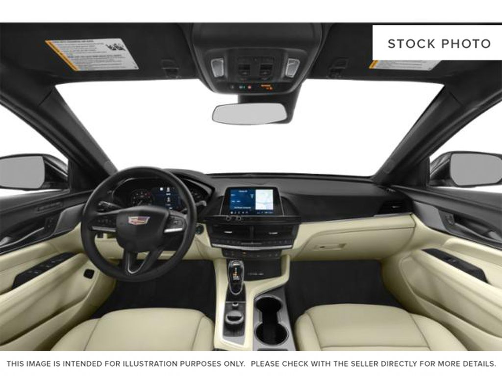 Gray[Satin Steel Metallic] 2021 Cadillac CT4 Central Dash Options Photo in Edmonton AB