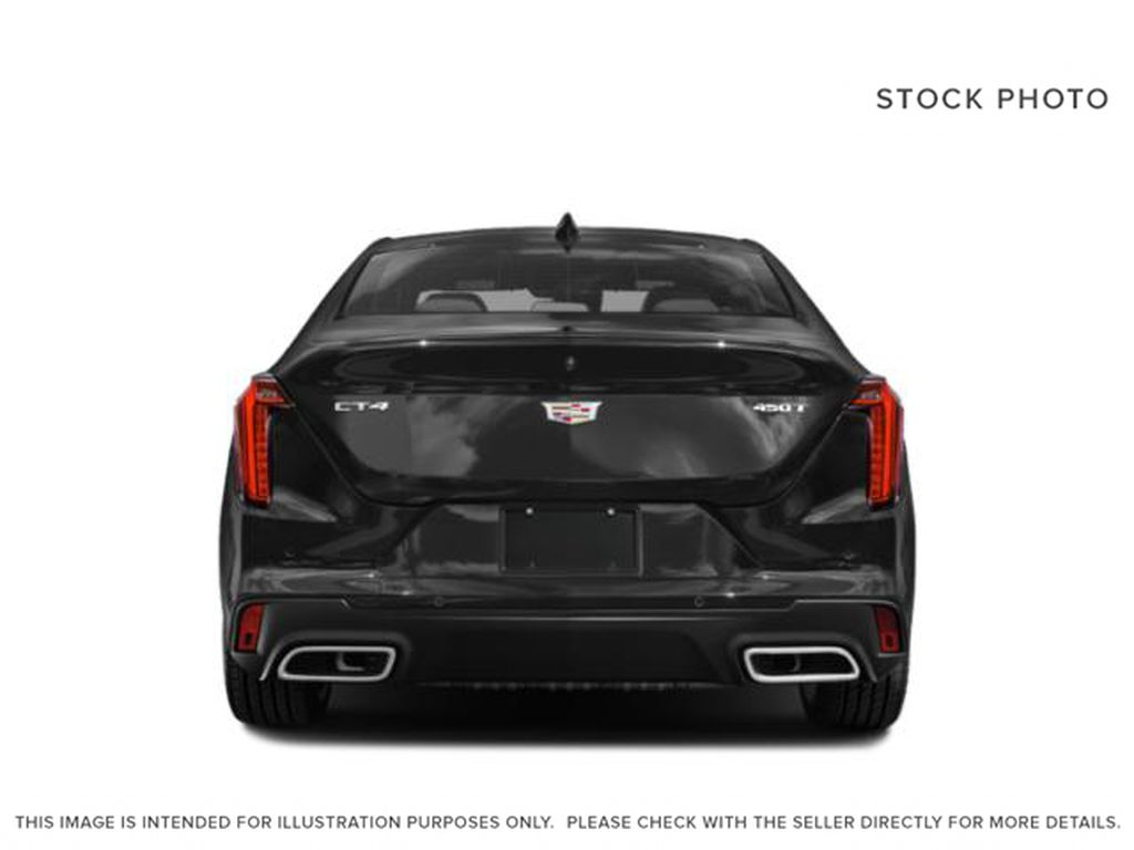 Gray[Satin Steel Metallic] 2021 Cadillac CT4 Rear of Vehicle Photo in Edmonton AB
