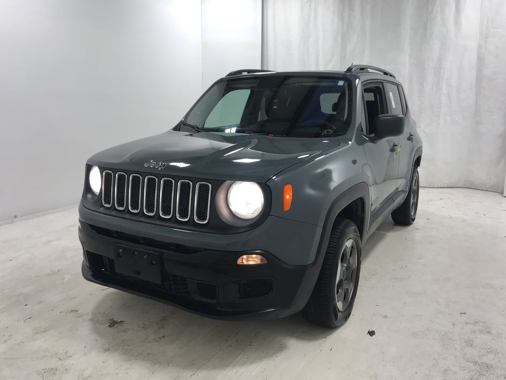 Gray 2017 Jeep Renegade Sport 4x4 *Remote Start* *Removable Roof Panels*