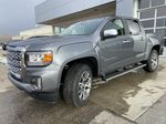 Gray[Satin Steel Metallic] 2021 GMC Canyon Denali Left Front Head Light / Bumper and Grill in Calgary AB