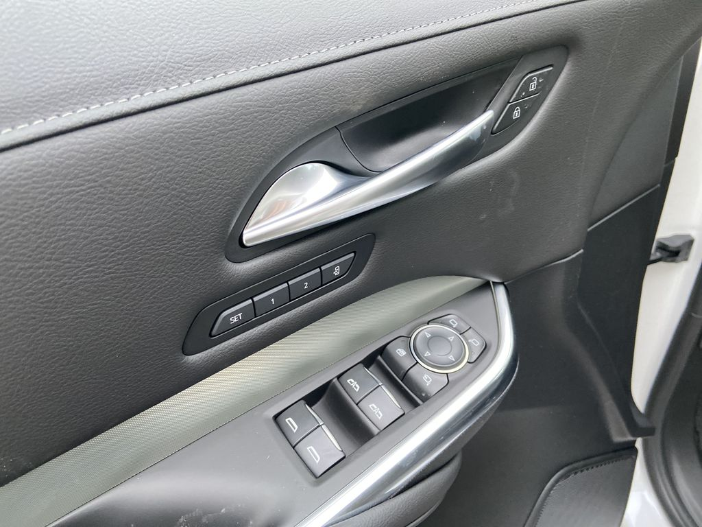 White[Crystal White Tricoat] 2021 Cadillac XT4 Premium Luxury  Driver's Side Door Controls Photo in Calgary AB