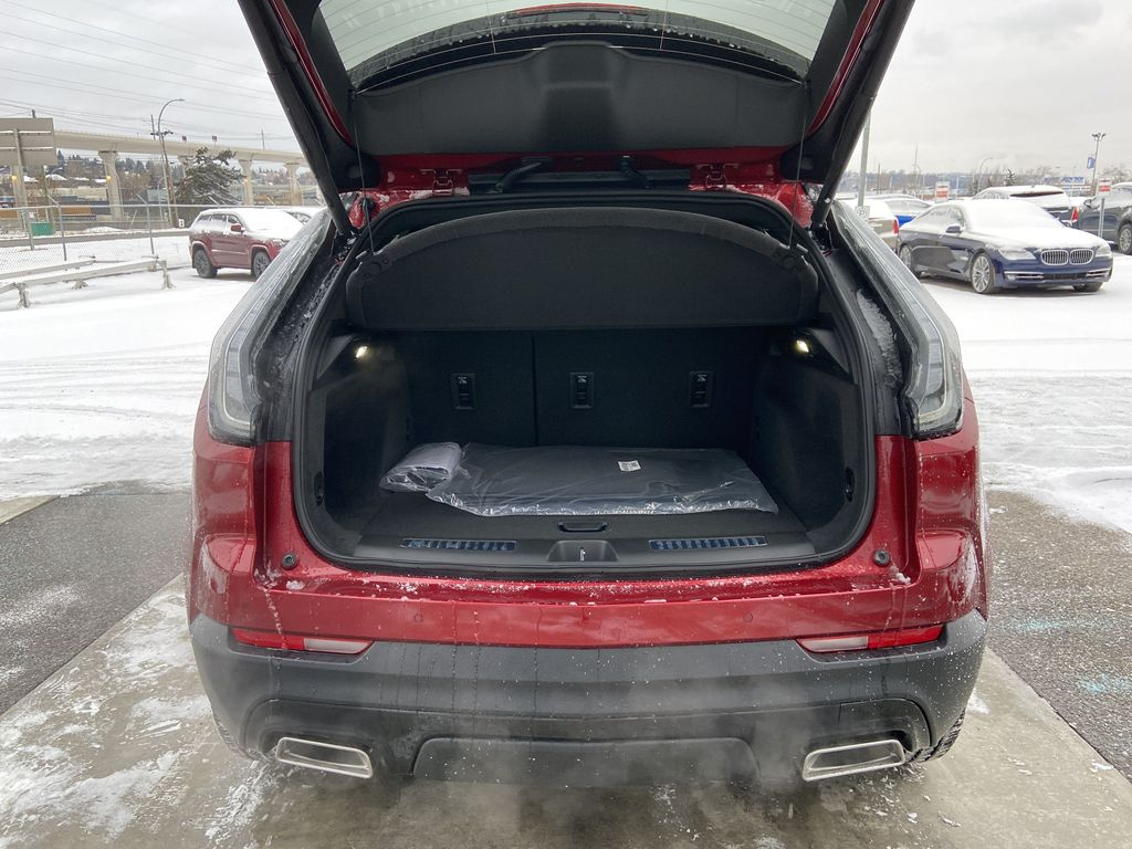 Red[Infrared Tintcoat] 2021 Cadillac XT4 Sport Trunk / Cargo Area Photo in Calgary AB