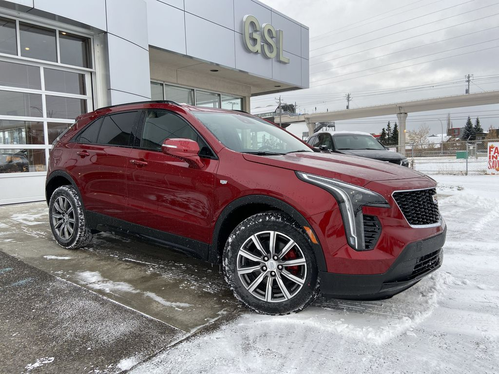 Red[Infrared Tintcoat] 2021 Cadillac XT4 Sport