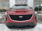Red[Infrared Tintcoat] 2021 Cadillac XT4 Sport Front Vehicle Photo in Calgary AB