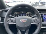 Red[Infrared Tintcoat] 2021 Cadillac XT4 Sport Steering Wheel and Dash Photo in Calgary AB