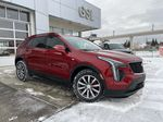 Red[Infrared Tintcoat] 2021 Cadillac XT4 Sport Primary Listing Photo in Calgary AB