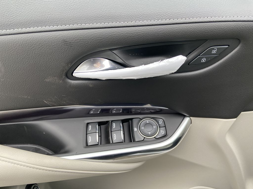 White[Crystal White Tricoat] 2021 Cadillac XT4 Luxury  Driver's Side Door Controls Photo in Calgary AB