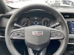 White[Crystal White Tricoat] 2021 Cadillac XT4 Sport Steering Wheel and Dash Photo in Calgary AB