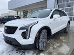 White[Crystal White Tricoat] 2021 Cadillac XT4 Sport Left Front Head Light / Bumper and Grill in Calgary AB
