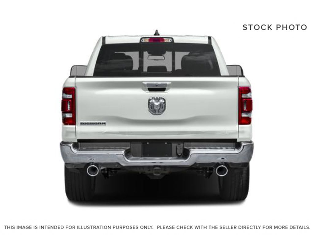 Blue[Hydro Blue Pearl] 2021 Ram 1500 Rear of Vehicle Photo in Cold Lake AB