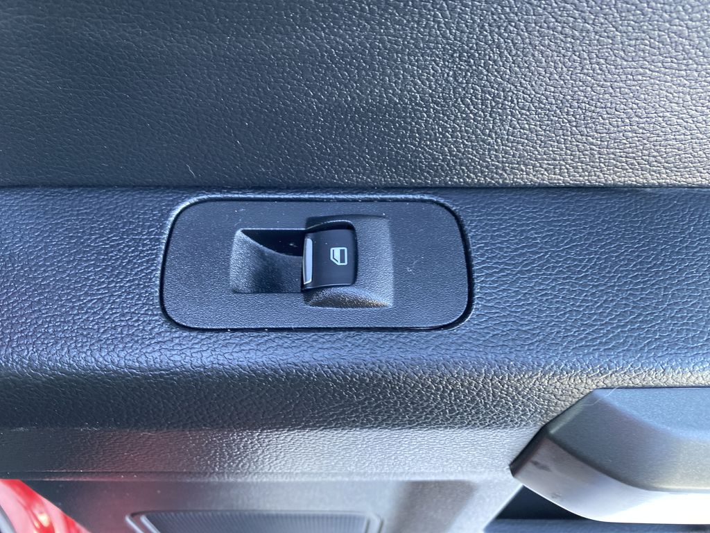 Red[Race Red] 2017 Ford F-150 Passenger Rear Door Controls Photo in Edmonton AB