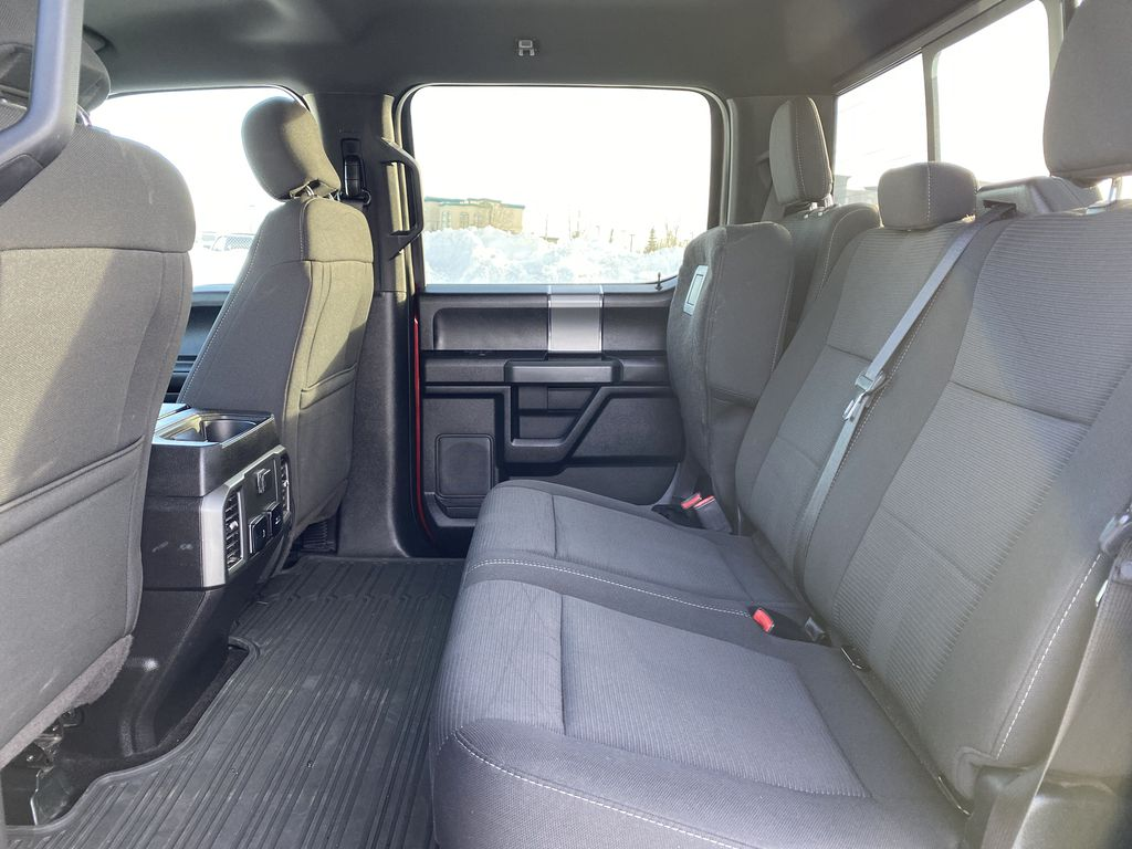 Red[Race Red] 2017 Ford F-150 Left Side Rear Seat  Photo in Edmonton AB