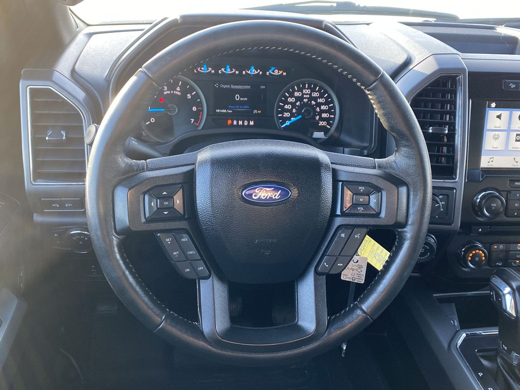 Red[Race Red] 2017 Ford F-150 Strng Wheel: Frm Rear in Edmonton AB