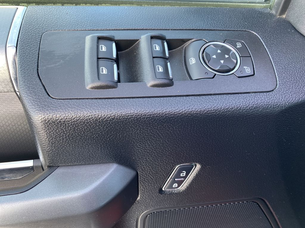 Red[Race Red] 2017 Ford F-150  Driver's Side Door Controls Photo in Edmonton AB