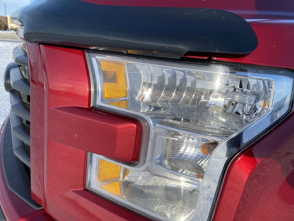 Red[Race Red] 2017 Ford F-150 Left Front Head Light / Bumper and Grill in Edmonton AB