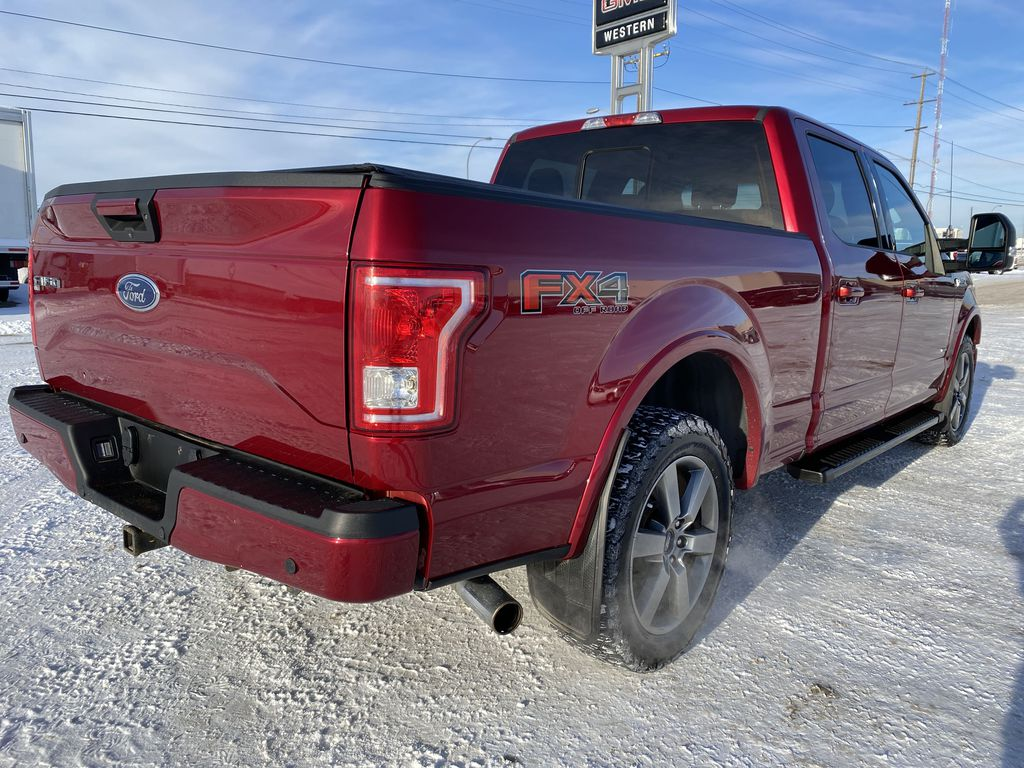 Red[Race Red] 2017 Ford F-150 Right Rear Corner Photo in Edmonton AB