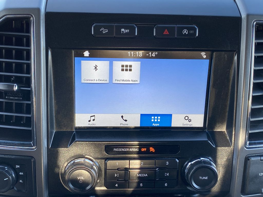 Red[Race Red] 2017 Ford F-150 Central Dash Options Photo in Edmonton AB