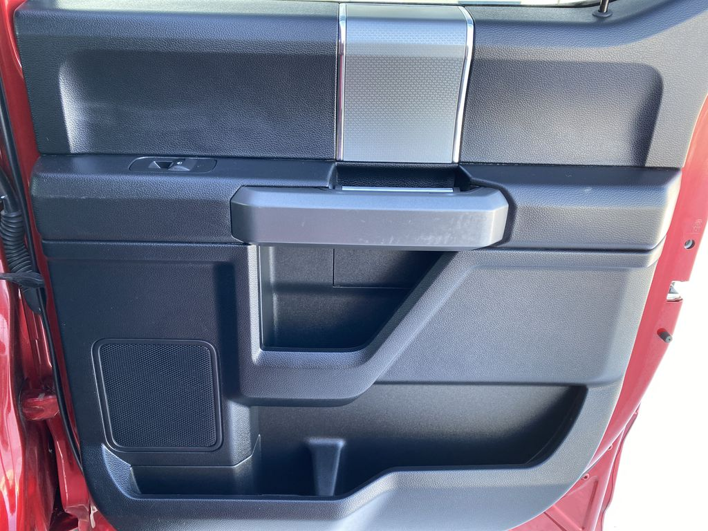 Red[Race Red] 2017 Ford F-150 Right Rear Interior Door Panel Photo in Edmonton AB