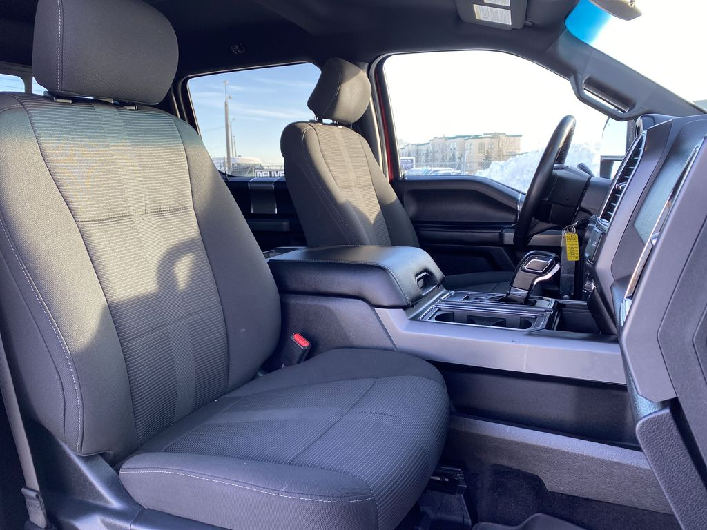 Red[Race Red] 2017 Ford F-150 Right Side Front Seat  Photo in Edmonton AB