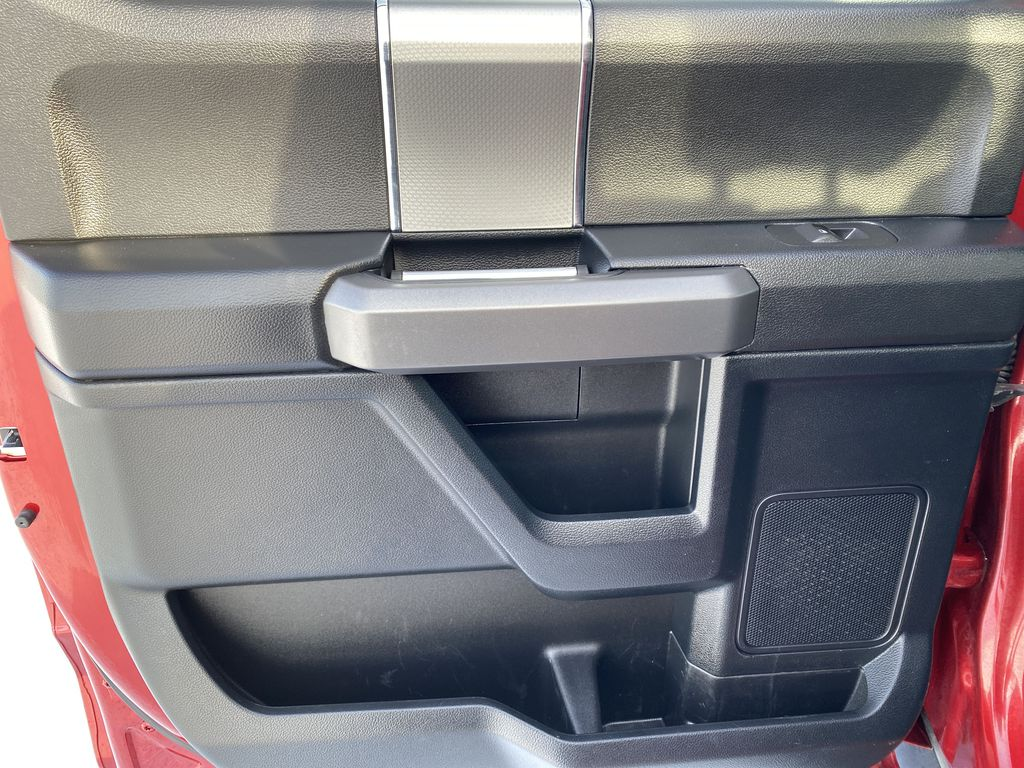 Red[Race Red] 2017 Ford F-150 Left Rear Interior Door Panel Photo in Edmonton AB