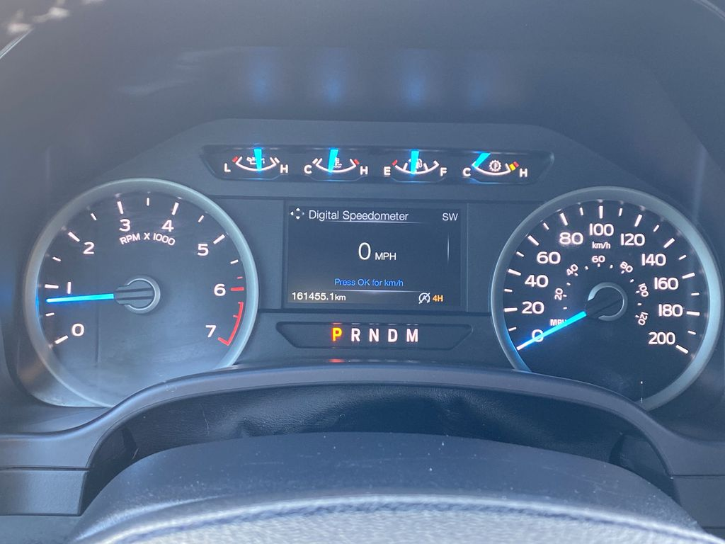 Red[Race Red] 2017 Ford F-150 Odometer Photo in Edmonton AB