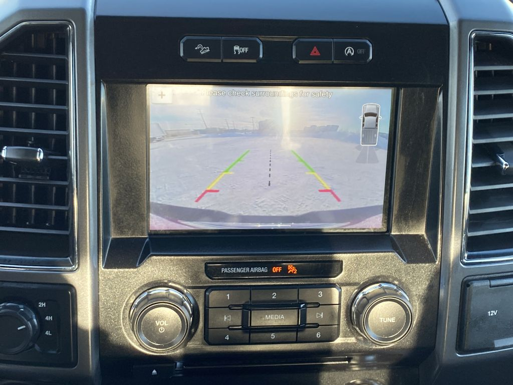 Red[Race Red] 2017 Ford F-150 Backup Camera Closeup Photo in Edmonton AB