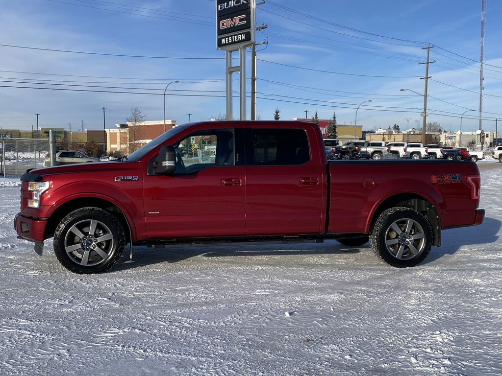 Red[Race Red] 2017 Ford F-150 Left Side Photo in Edmonton AB