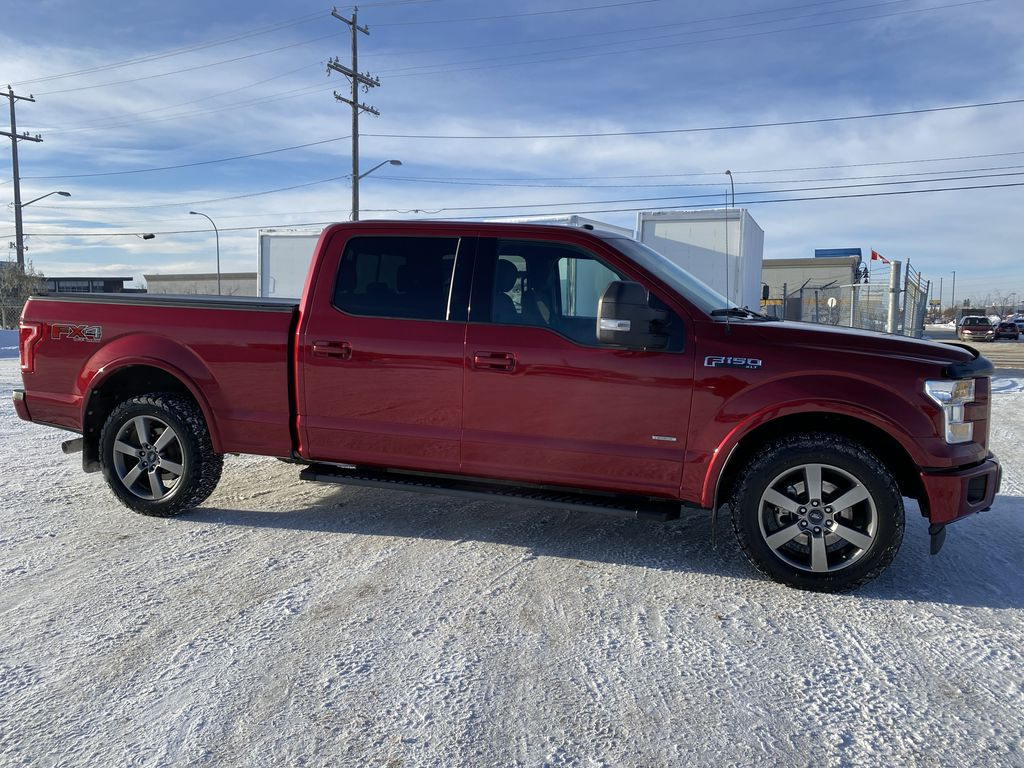 Red[Race Red] 2017 Ford F-150 Right Side Photo in Edmonton AB