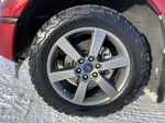 Red[Race Red] 2017 Ford F-150 Left Front Rim and Tire Photo in Edmonton AB