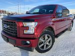 Red[Race Red] 2017 Ford F-150 Left Front Corner Photo in Edmonton AB