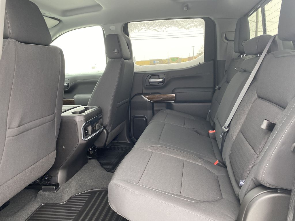 Blue[Pacific Blue Metallic] 2021 GMC Sierra 1500 Left Side Rear Seat  Photo in Edmonton AB
