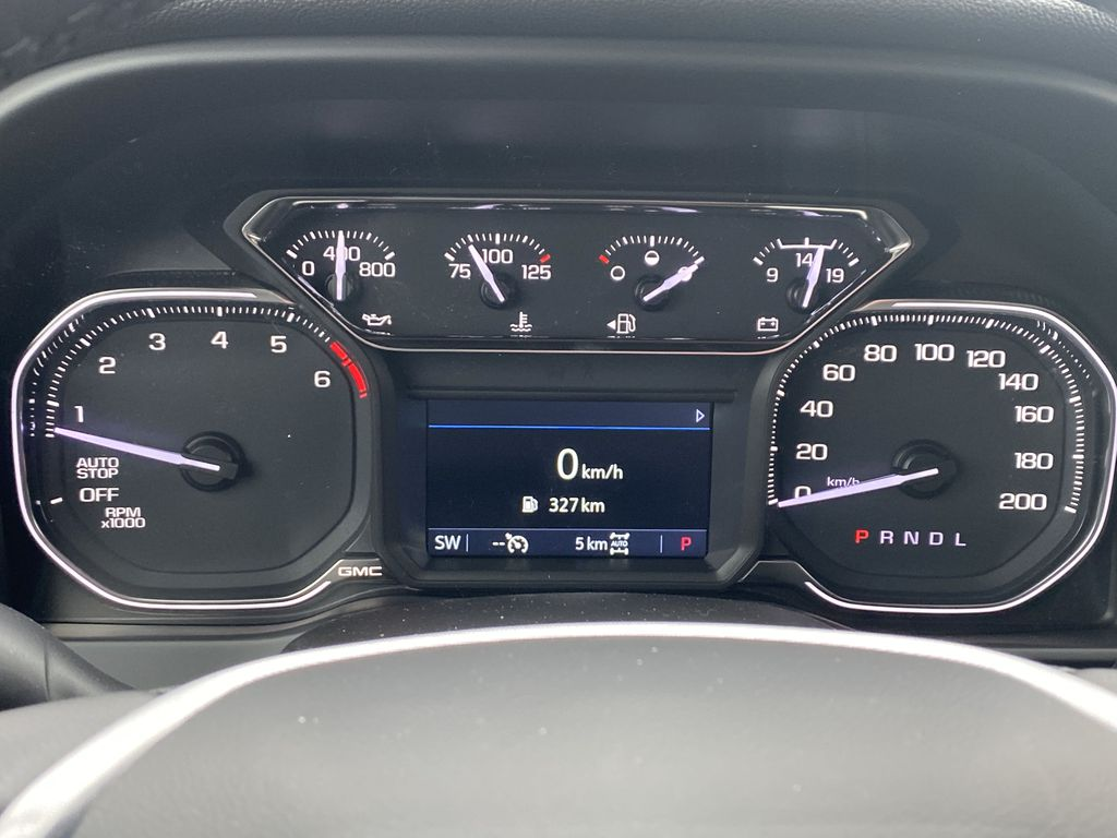 Blue[Pacific Blue Metallic] 2021 GMC Sierra 1500 Odometer Photo in Edmonton AB