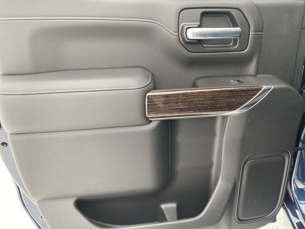 Blue[Pacific Blue Metallic] 2021 GMC Sierra 1500 Left Rear Interior Door Panel Photo in Edmonton AB