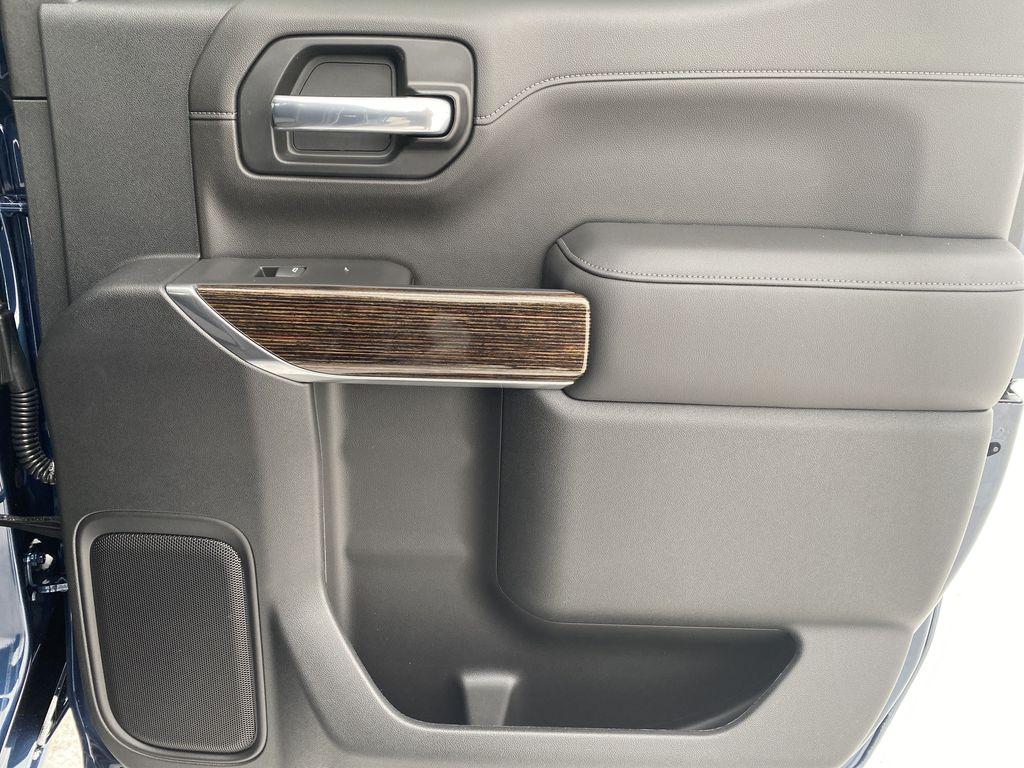Blue[Pacific Blue Metallic] 2021 GMC Sierra 1500 Right Rear Interior Door Panel Photo in Edmonton AB