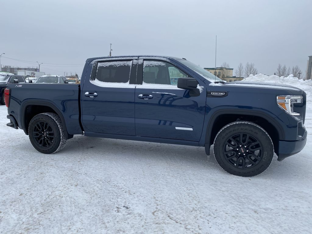 Blue[Pacific Blue Metallic] 2021 GMC Sierra 1500 Right Side Photo in Edmonton AB