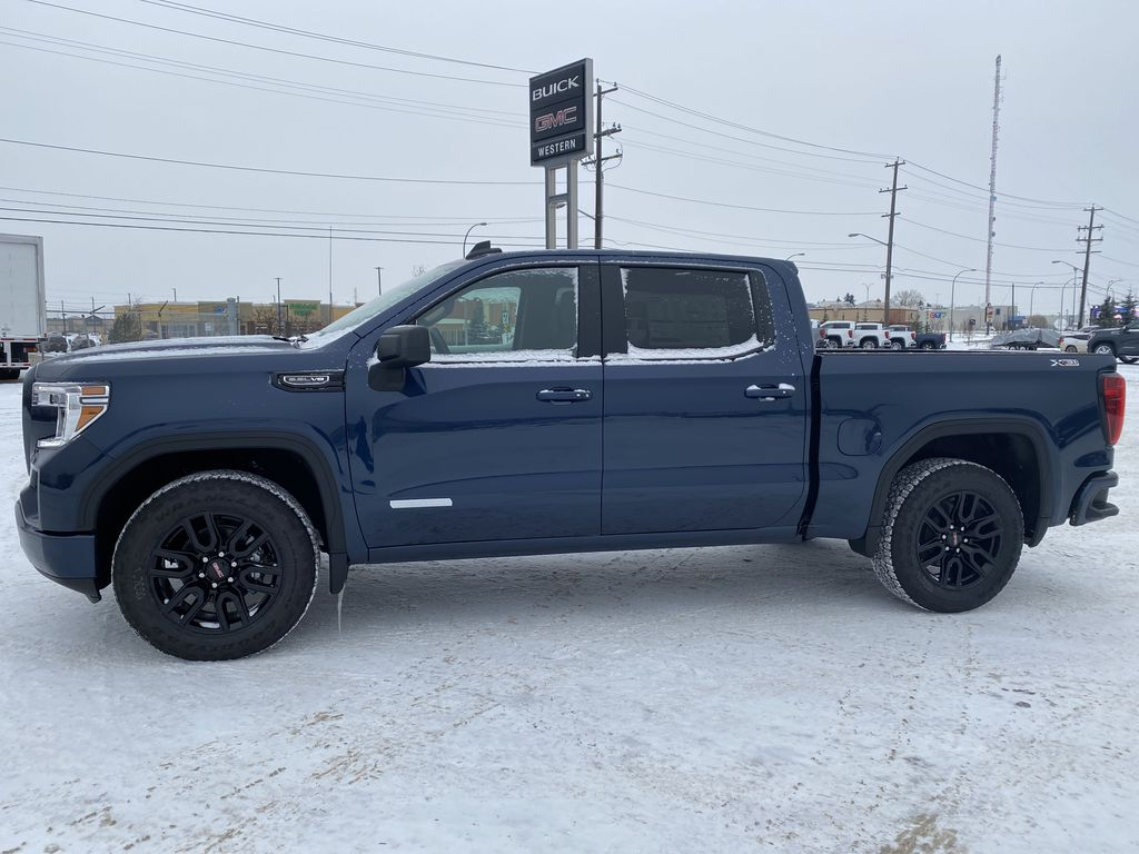 Blue[Pacific Blue Metallic] 2021 GMC Sierra 1500 Left Side Photo in Edmonton AB
