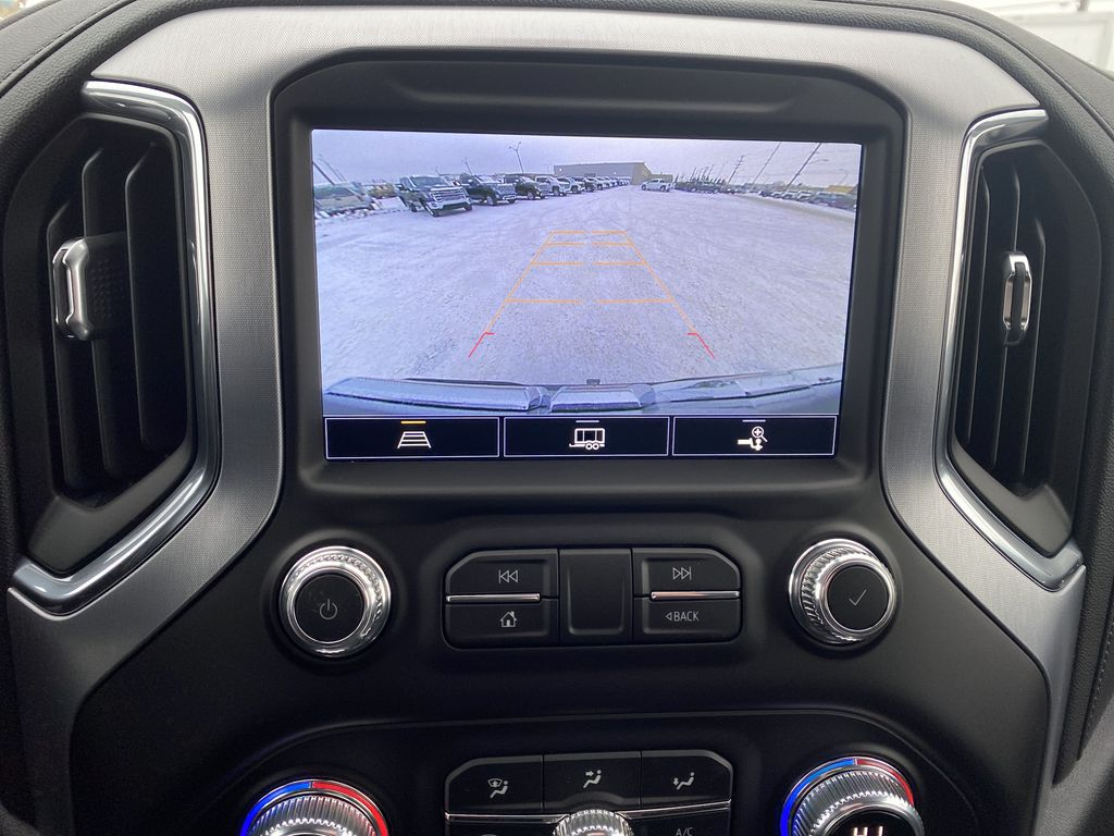 Blue[Pacific Blue Metallic] 2021 GMC Sierra 1500 Backup Camera Closeup Photo in Edmonton AB