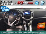 Silver[Silver Ice Metallic] 2015 Chevrolet Cruze 2LT - Leather, Sunroof, Bluetooth Backup Cam Central Dash Options Photo in Winnipeg MB