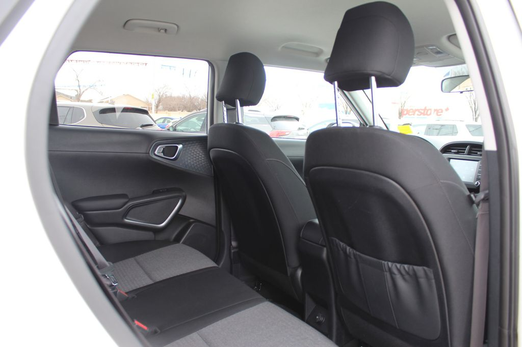 White 2020 Kia Soul Left Side Rear Seat  Photo in Medicine Hat AB