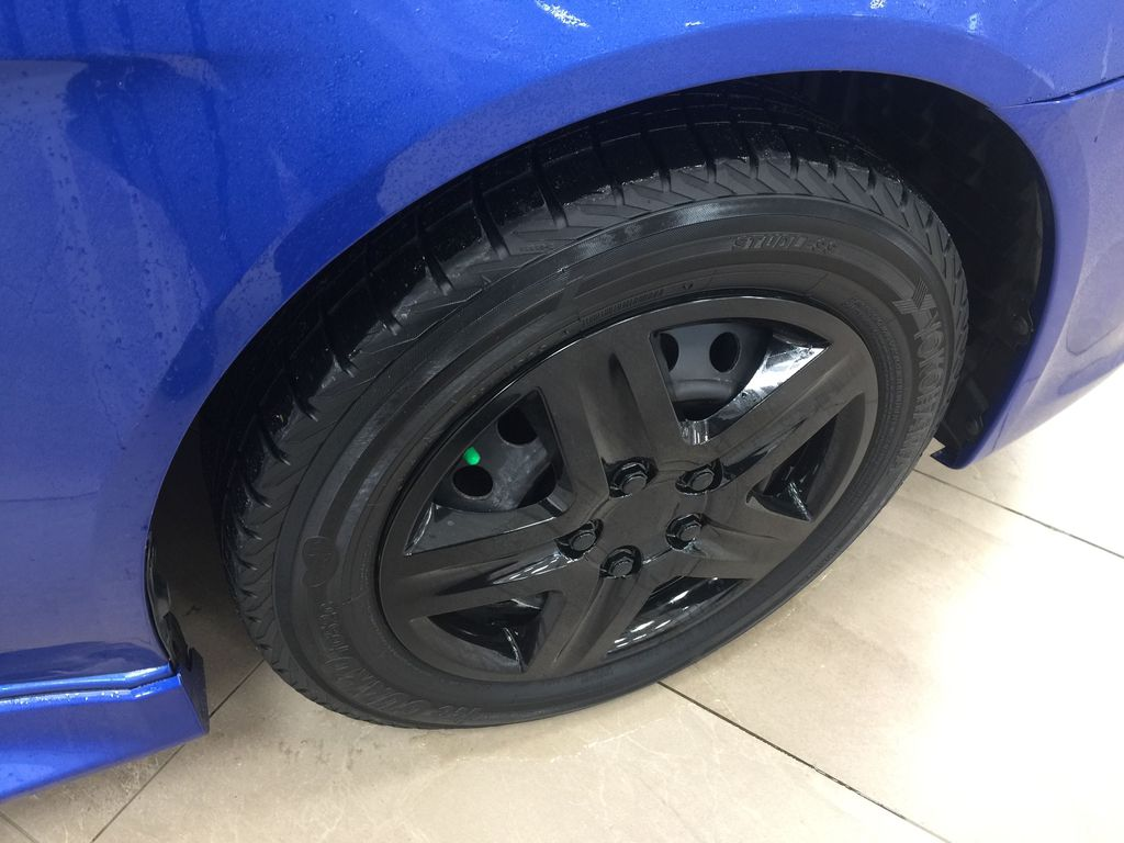 Blue[Octane Blue Pearl] 2016 Mitsubishi Lancer SE Limited FWD Right Front Rim and Tire Photo in Sherwood Park AB