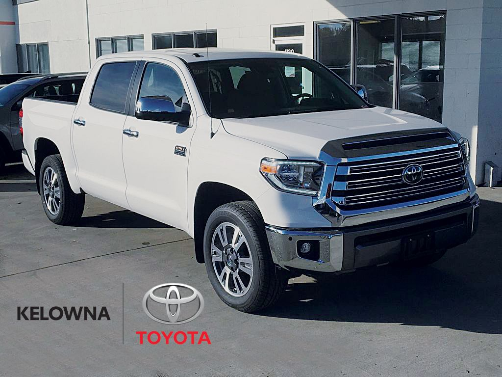 White[Wind Chill] 2021 Toyota Tundra Crewmax Platinum 1794 Edition