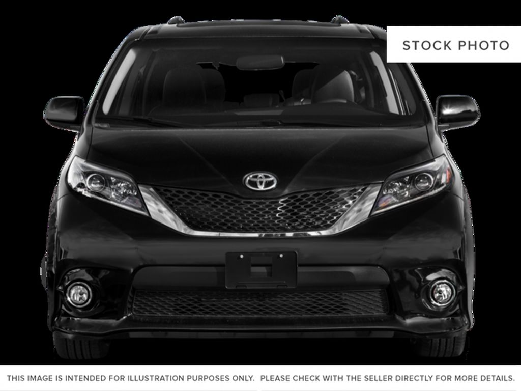 White[Alpine White] 2016 Toyota Sienna Front Vehicle Photo in Fort Macleod AB