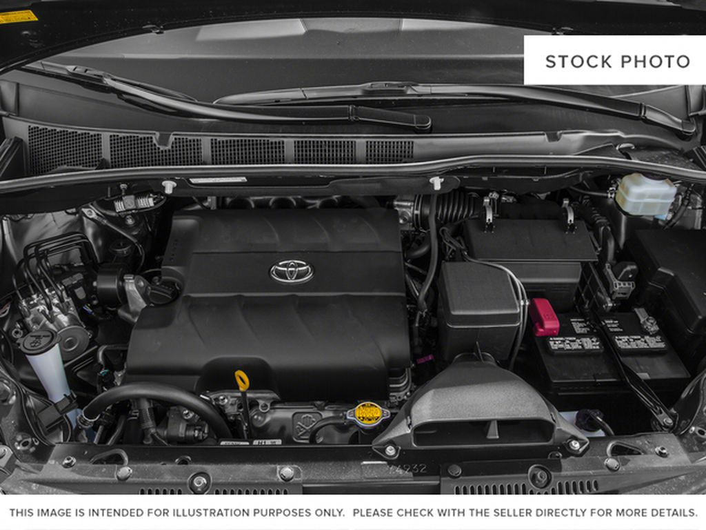 White[Alpine White] 2016 Toyota Sienna Engine Compartment Photo in Fort Macleod AB
